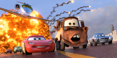 Impreza z Autami Cars!